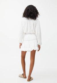 PULL&BEAR - Mini skirt - off-white - 2