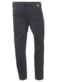 TOM TAILOR DENIM - CONROY  - Slim fit jeans - dark stone black denim - 1
