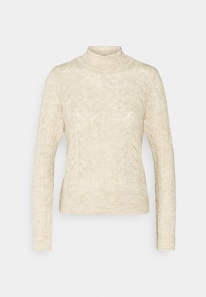 VMCARLA HIGHNECK - Pullover - birch melange