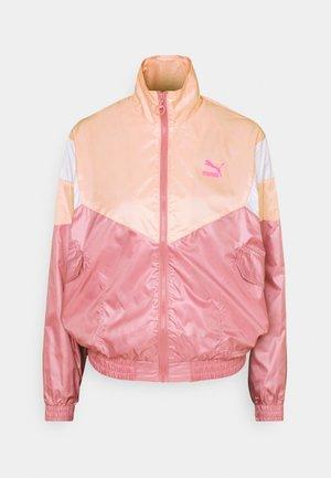 TRACK JACKET  - Summer jacket - foxglove