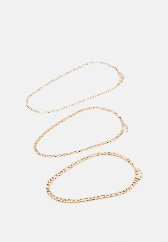 PCFAKIRA COMBI NECKLACE 3-Pack - Smykke - gold colour