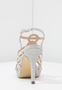 Menbur - BEGONIA - High heeled sandals - plata - 4