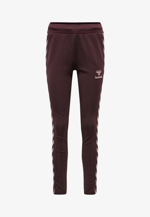 NELLY TAPERED  - Tracksuit bottoms - fudge