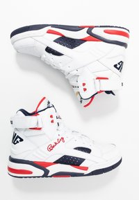 Ewing - ECLIPSE  - High-top trainers - white/chinese red/black - 1
