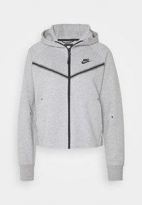 Nike Sportswear - Cardigan - dk grey heather/black - 3