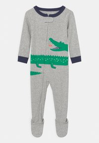 Carter's - GATOR - Sleep suit - mottled grey/green - 0
