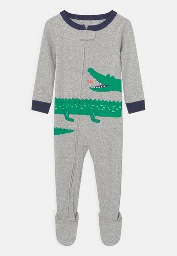GATOR - Sleep suit - mottled grey/green