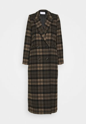 ALOA ALTEA - Classic coat - cedar wood/black