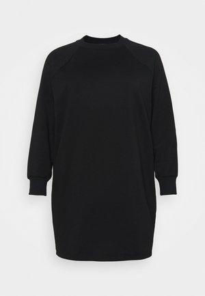 NMLUPA DRESS CURVE - Day dress - black