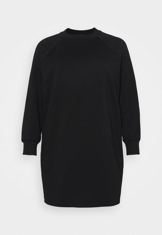 NMLUPA DRESS CURVE - Vapaa-ajan mekko - black