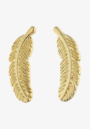 VERGOLDET MIT-MOTIV IN GLANZ-OPTIK - Earrings - goldfarben