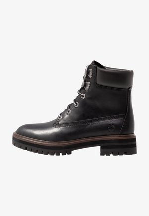 LONDON SQUARE 6IN BOOT - Snørestøvletter - jet black mincio