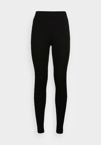 PRESS SOLROS  - Leggings - Trousers - black