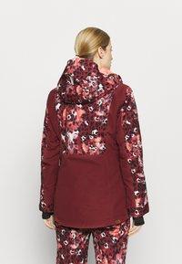Roxy - ANDIE - Snowboard jacket - oxblood/red leopold - 2