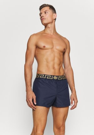 BOXER MARE UOMO - Swimming shorts - blu/oro