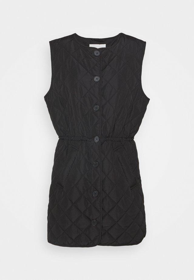 HENA  - Waistcoat - black