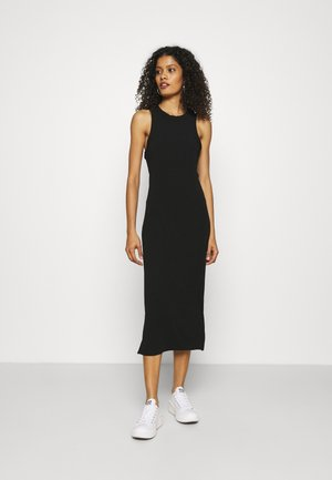 RACER SHEATH - Jumper dress - black