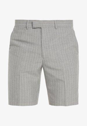 PINSTRIPE SHORT - Shorts - grey