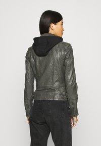 Gipsy - NOLA LAGA - Leather jacket - grey - 2