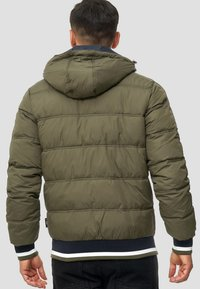 INDICODE JEANS - REGULAR  FIT - Winter jacket - dark green - 2