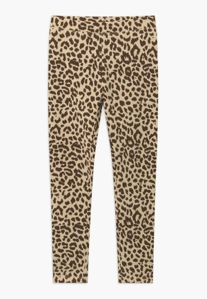 LEOPARD - Leggings - natural brown