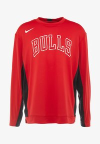Nike Performance - NBA CHICAGO BULLS SHOOTER LONG SLEEVE - Pelipaita - university red/black - 5