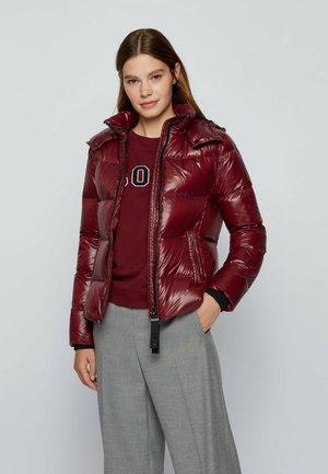 Down jacket - dark red