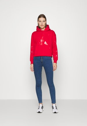 ECO HOODIE - Sweat à capuche - red