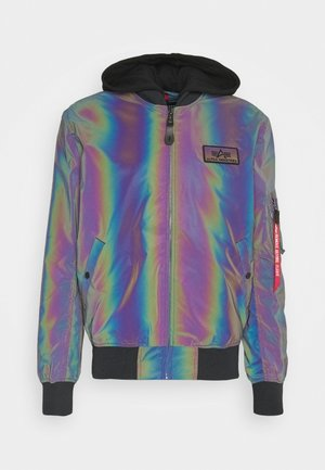 RAINBOW REFLECTIVE - Bomber Jacket - rainbow/reflective
