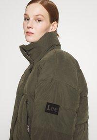 Lee - Vinterjakke - serpico green - 6