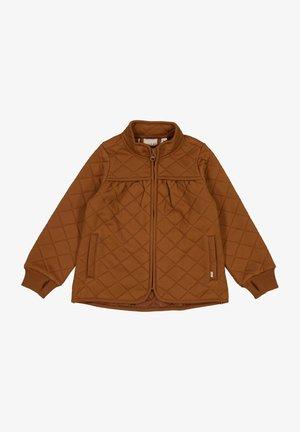 Outdoor jacket - nutella