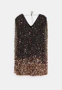 MANÉ - THEA DRESS - Cocktail dress / Party dress - washed black/rose gold - 1