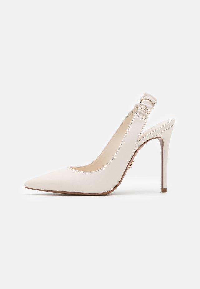 RALEIGH SLING - High heels - light cream
