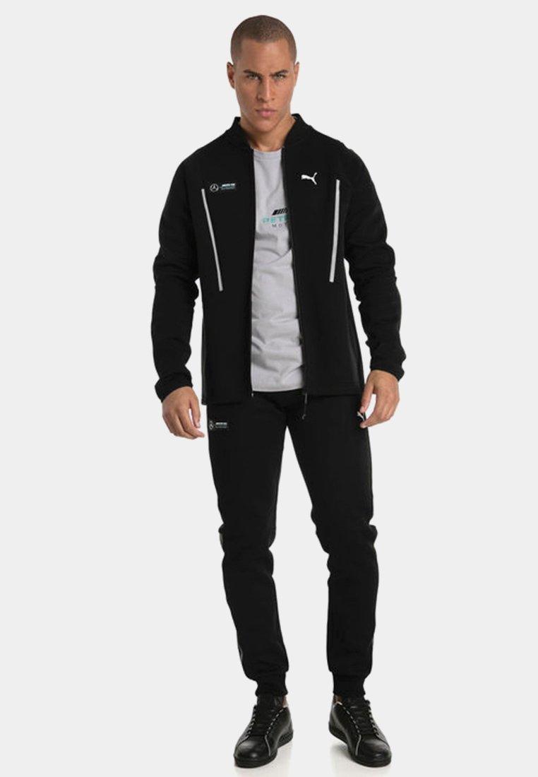Puma AMG PETRONAS - Pantalon de survêtement - black/noir - ZALANDO.FR