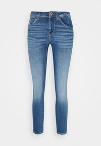 Vero Moda Petite - VMLUX PETITE - Džíny Slim Fit - medium blue denim - 3