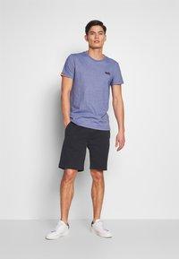 Superdry - VINTAGE CREW - Basic T-shirt - cobalt - 1