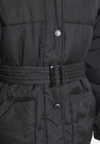 Missguided Tall - SELF BELTED PUFFER - Winter jacket - black - 2