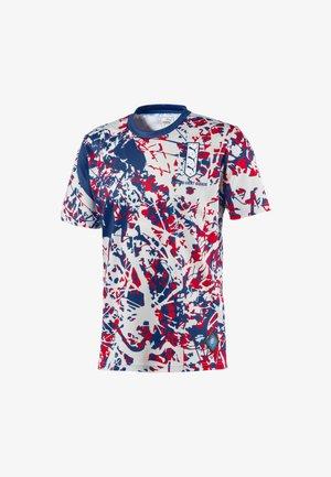 ENGLAND - Print T-shirt - limoges-high risk red
