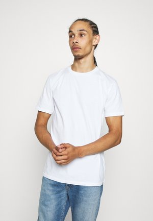 SHORT SLEEVE TEE - T-shirt - bas - white