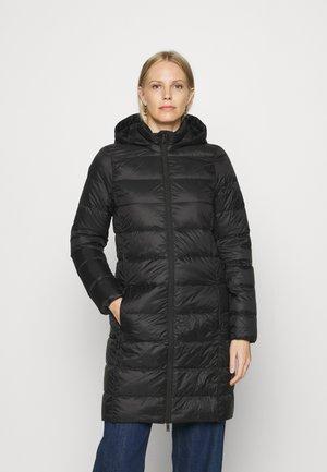 PUFFER COAT - Down coat - black