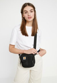 Carhartt WIP - ESSENTIALS BAG SMALL UNISEX - Sac bandoulière - black - 5