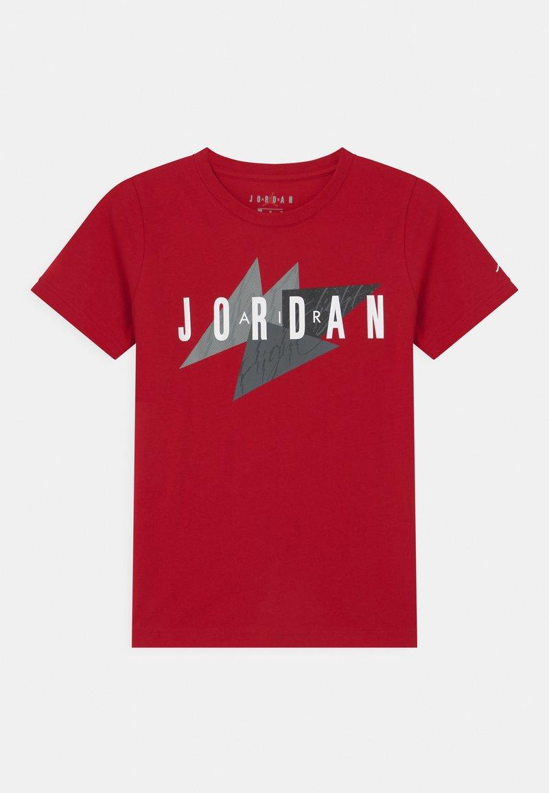 Jordan - GEO FLIGHT - Print T-shirt - gym red