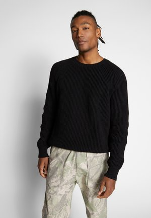 STERLING SWEATER - Jumper - black