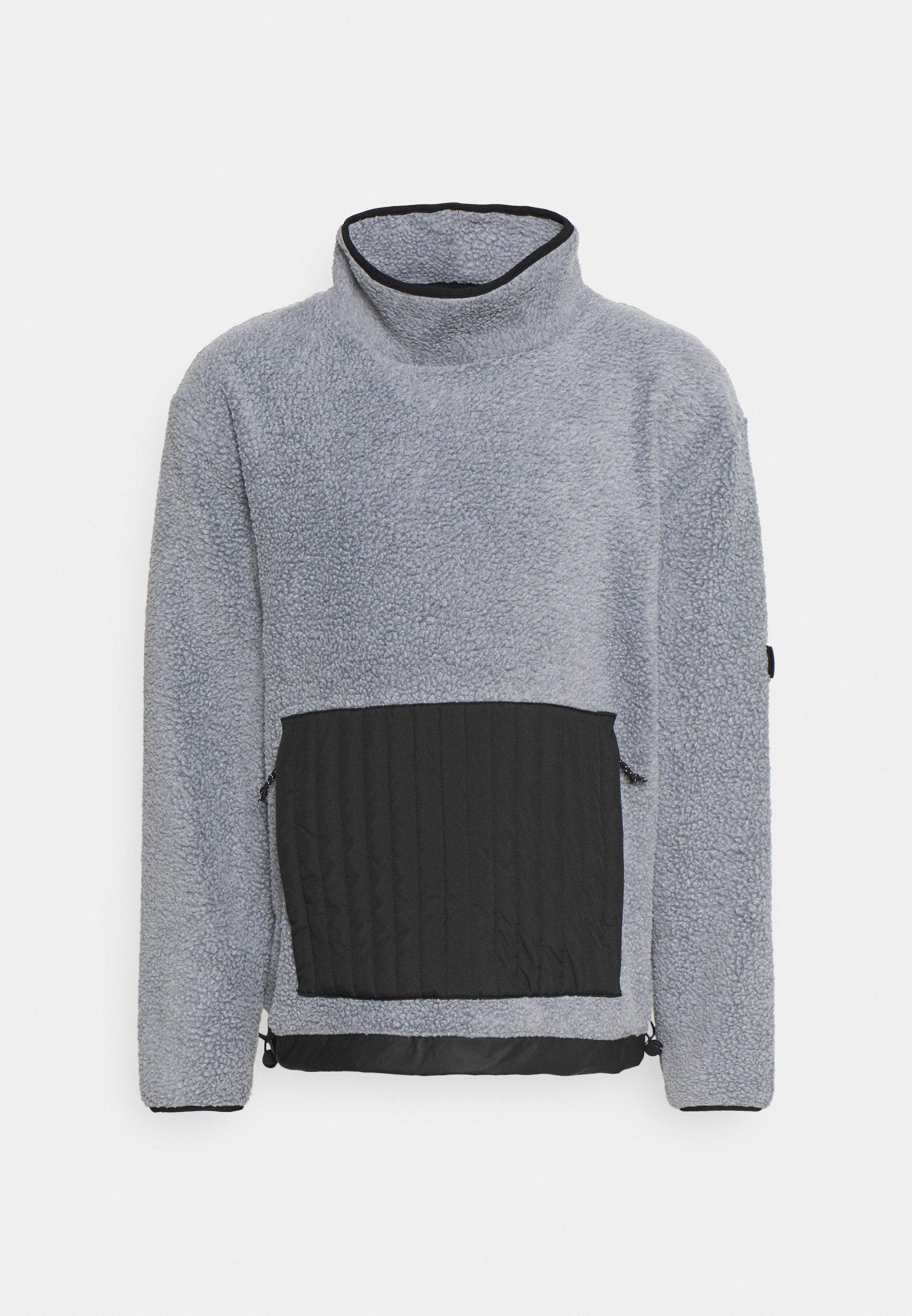 Men HIGH NECK UNISEX - Fleece jumper