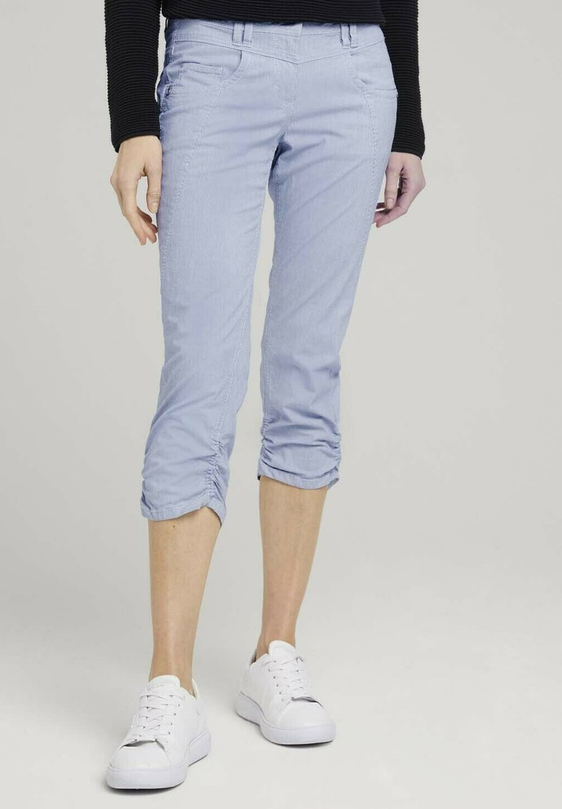 TOM TAILOR - Trousers - thin stripe pants