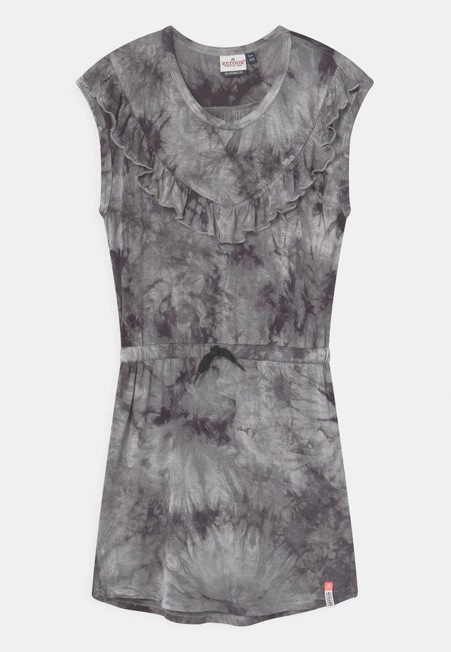 ABBY - Vestito di maglina - grey