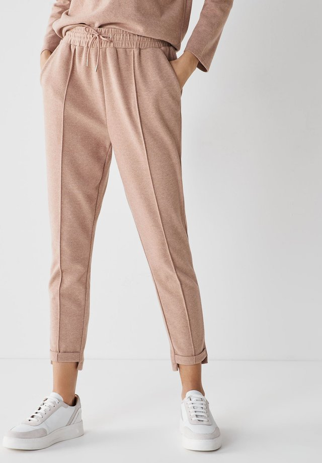 Teplákové kalhoty - camel