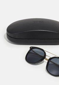 BOSS - UNISEX - Sunglasses - black gold-coloured - 2