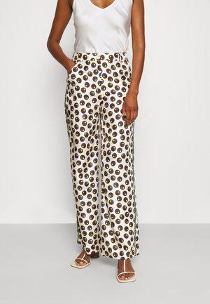 REVA PAJAMA PANT - Kalhoty - off-white