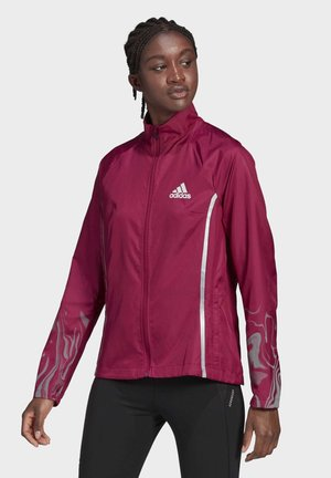 GLAM ON JACKET - Training jacket - burgundy
